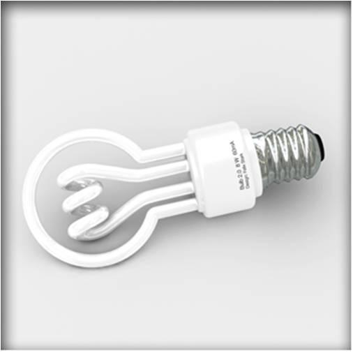 Bonitas bombillas de bajo consumo desenchufados Bombillas de bajo consumo