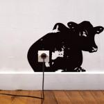 vaca-enchufe