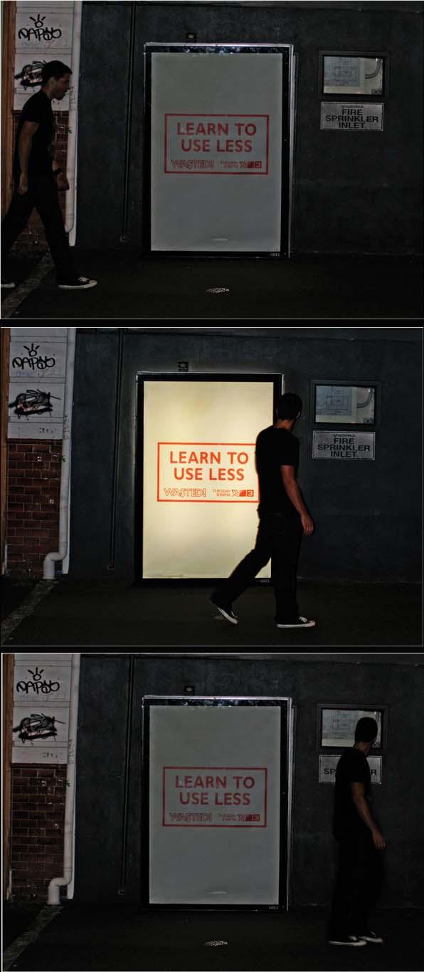 anuncio en la calle