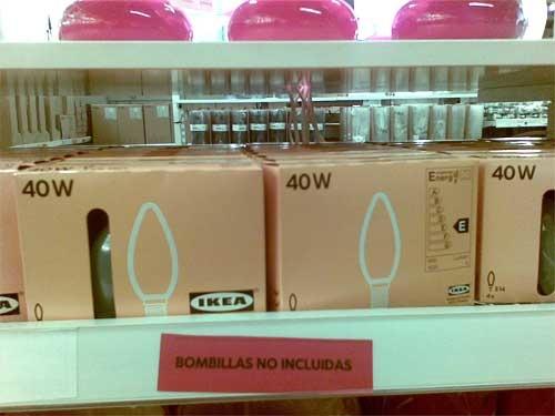 bombillas-no-incluidas