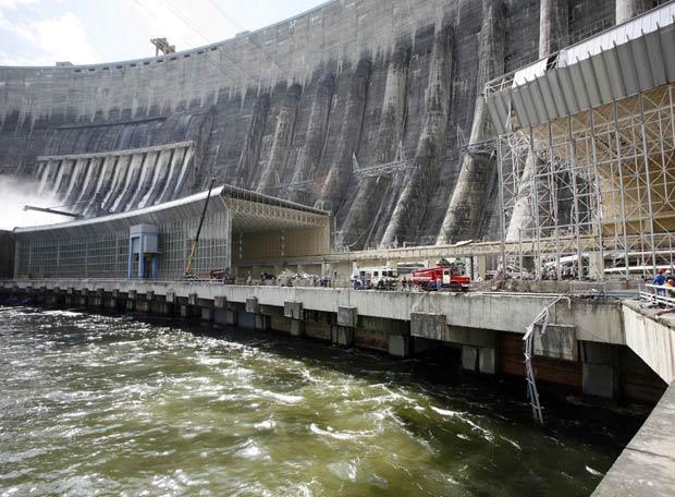 accidente hidroelectrica rusa
