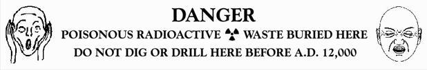 Residuos radiactivos. El grito
