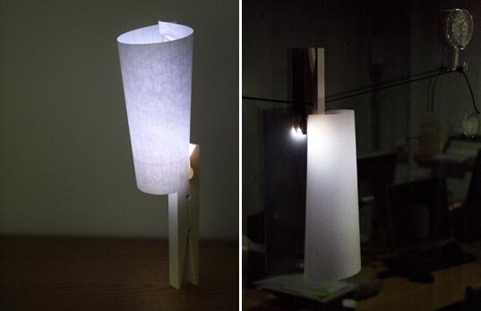 Pinza de la ropa - LED