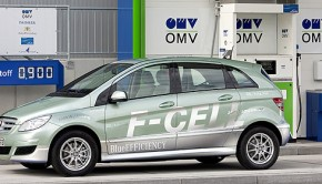 mercedes clase B fuel cell