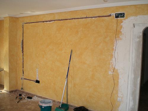 Protege los cables el ctricos oc ltalos o emp tralos - Radiadores de pared electricos ...