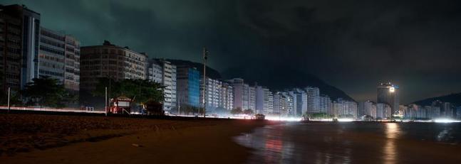 Copacabana durante el apagon
