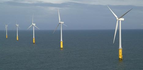aerogenerador marino offshore