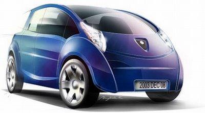 coche de aire comprimido