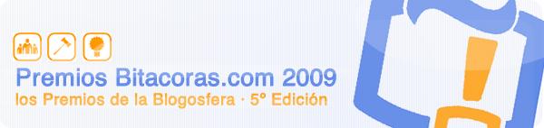 premios bitacoras 2009