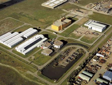 vista aérea del ATC holandés