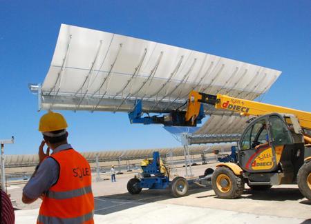 siemens compra Solel, planta solar de Lebrija
