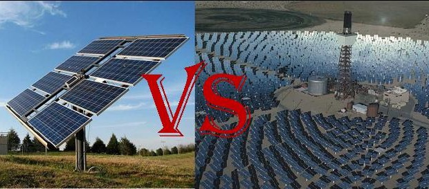 fotovoltaica vs termosolar