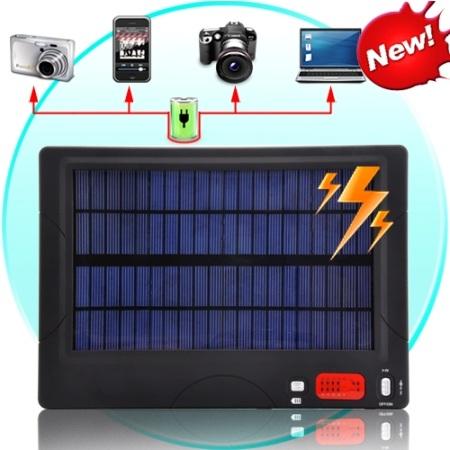 cargador solar multiusos