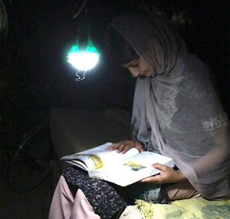 cambio de iluminacion, adios a las luces de queroseno
