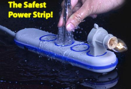 regleta resistente al agua