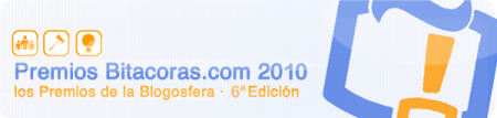 premios bitacorascom 2010
