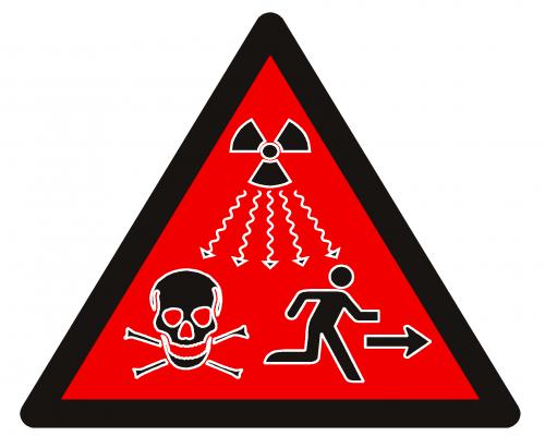 nuevo símbolo oficial de radiación