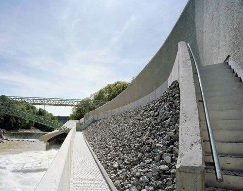 Central Hidroelectrica sobre el Rio Iller. Kempten Alemania. 11
