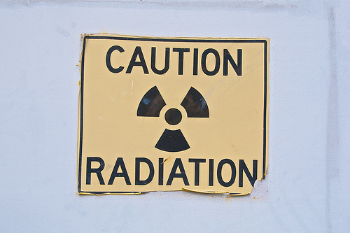 caution radiation by Nomad Tales