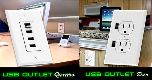 enchufes USB