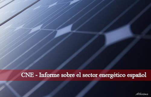 informe sobre el sector energético español