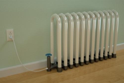 lampara radiador