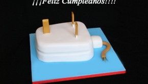 tarta enchufe electrico
