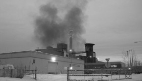 Smoke from the Aurora Energy coal plant by Rhiannon Fionn