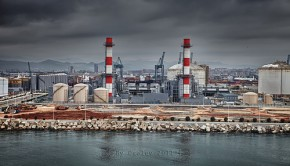 chimeneas industriales by osolev