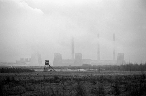 Land of coal. Power station Boxberg, 2007 por Ulrich Joho