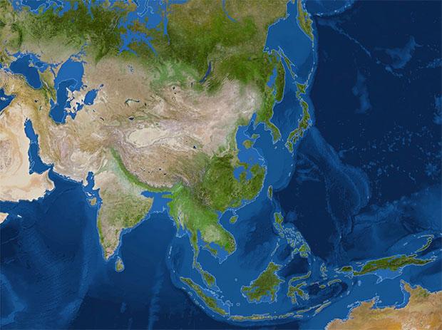 Asia tras el deshielo