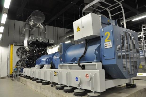 Generador diesel de backup