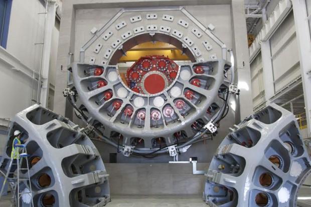 Pruebas de tren motriz de aerogeneradores de Charleston