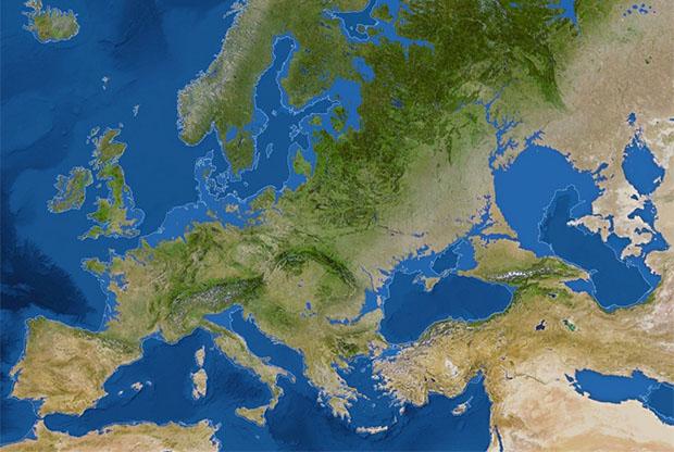 europa tras el deshielo