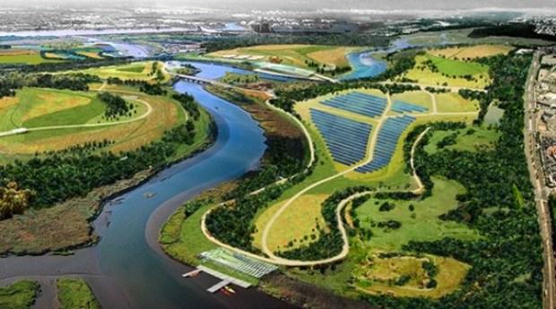 Proyecto vertedero solar en Nueva York