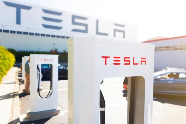 punto de superrecarga Tesla en suiza