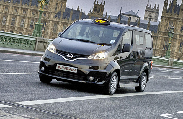 Taxi londres nissan NV200