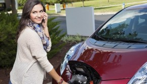 Recargando el Nissan Leaf