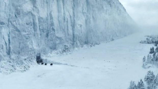 Muro de hielo Juegos de Tronos