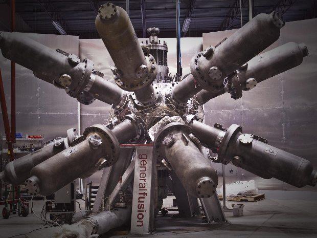 general fusion, golpes de martillo fusión nuclear