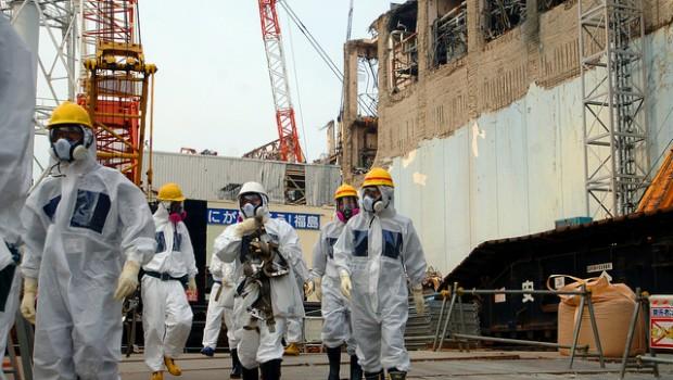 Expertos IAEA  en Fukushima