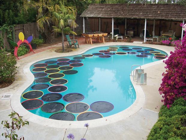 calentadores de piscina caseros recoge energ a del sol On calentador piscina casero