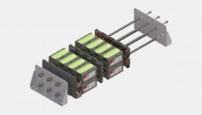 Concepto de baterías modulares