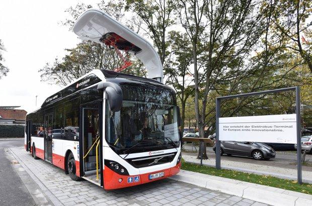 Autobús híbrido de Hamburgo