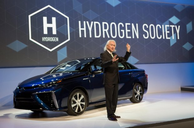 Toyota libera sus patentes sobre hidrógeno