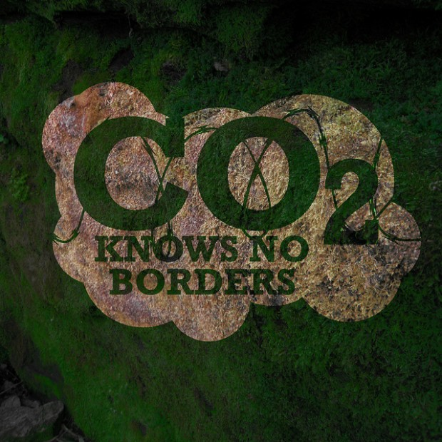 CO2 knows no borders by LIZ