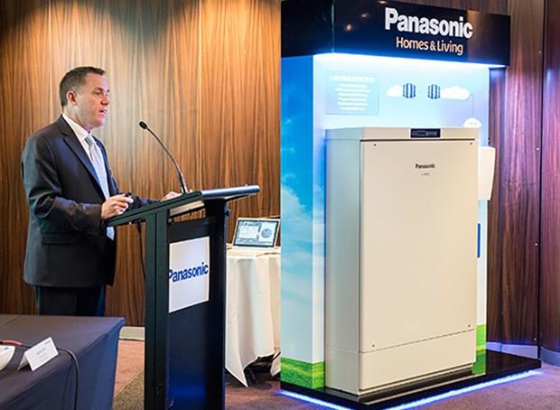 Panasonic bateria almacenamiento hogar