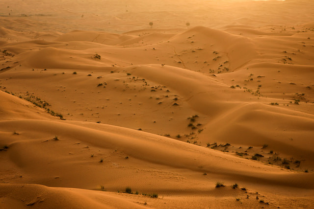 Desierto por Cliff Hellis