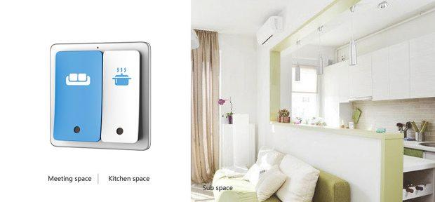Interruptor de espacios easy switch