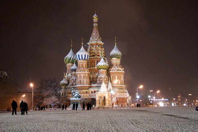 Saint Basil s Cathedral by Sergey Rodovnichenko